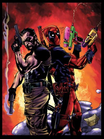 The Punisher dan Deadpool