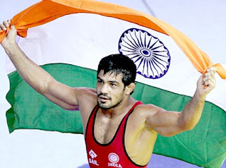 India hails Olympic silver medallist Sushil Kumar