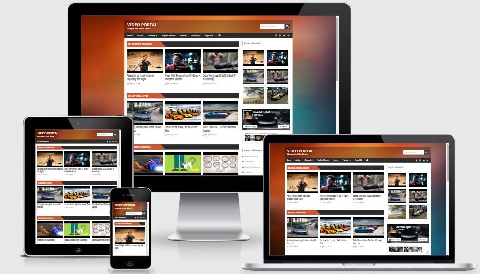 Responsive video template 369177 - hitori49.info