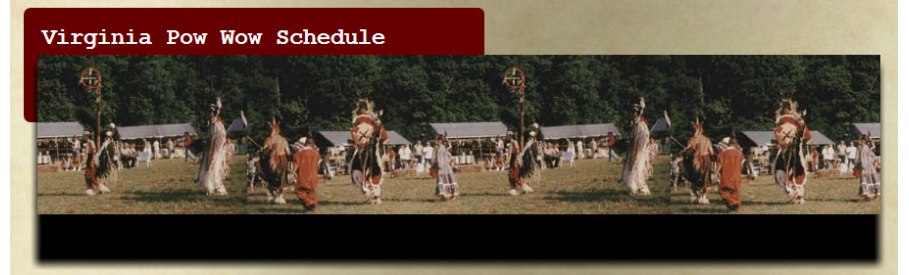 Virginia Pow Wow Schedule