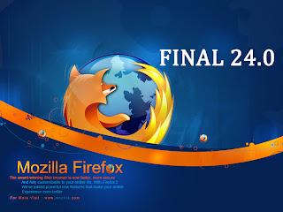 Download Mozilla Firefox 24.0 Final + SpeedyFox (Database Optimizer)