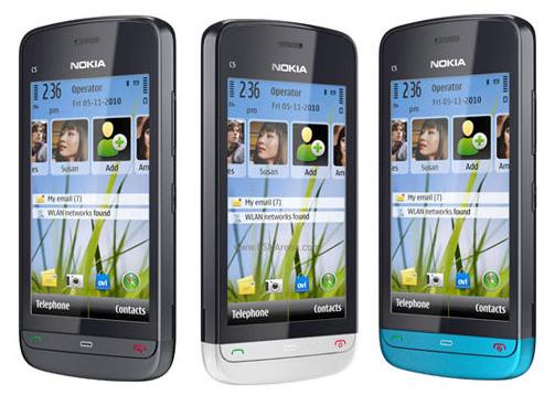 Nokia C-5 price