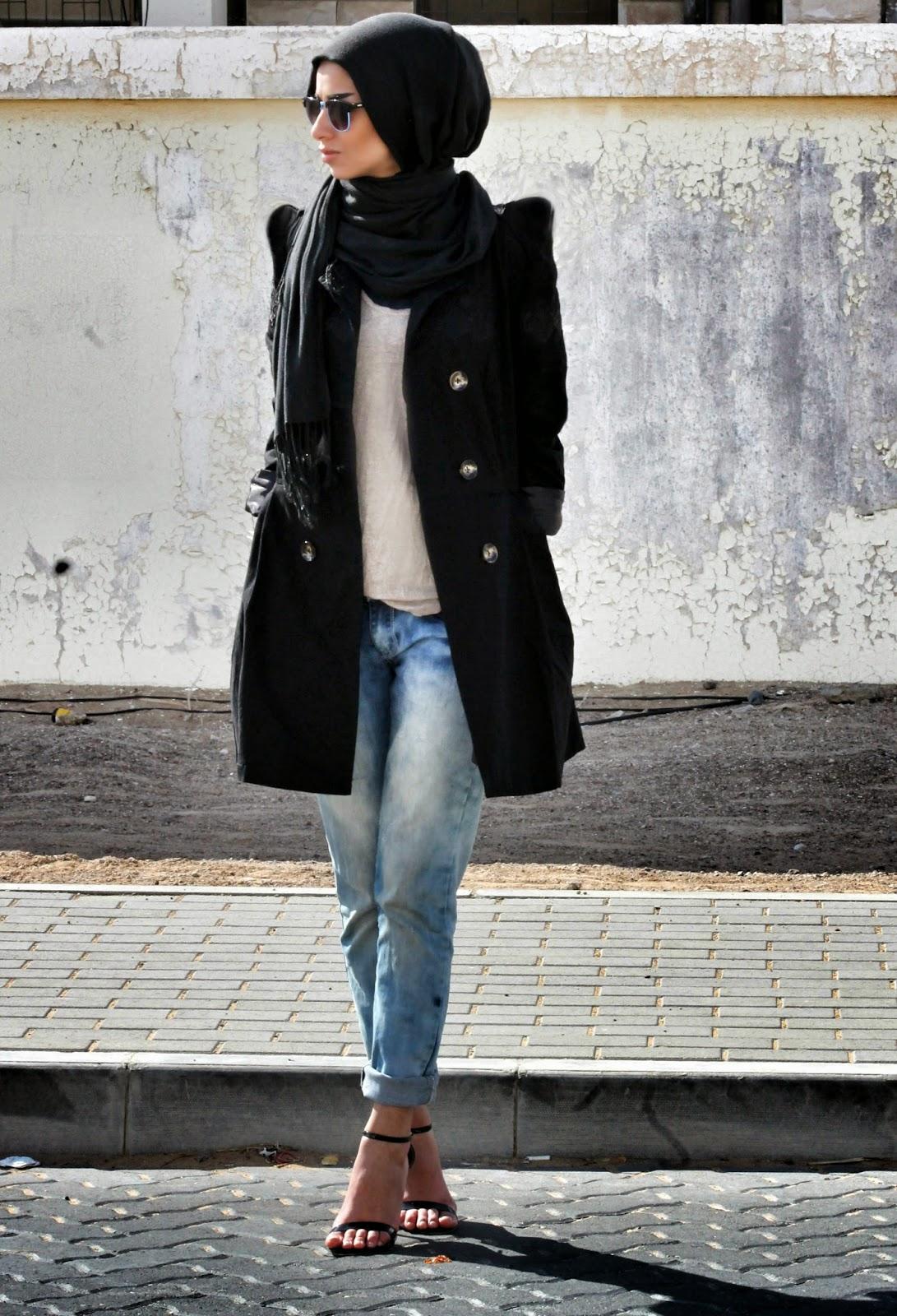 Hijab Fashion Through My Eyes Weekend In Boyfriend Jeans