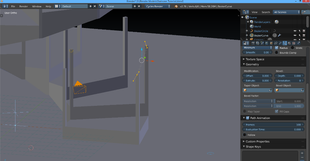 blender how to connect 2 vertices