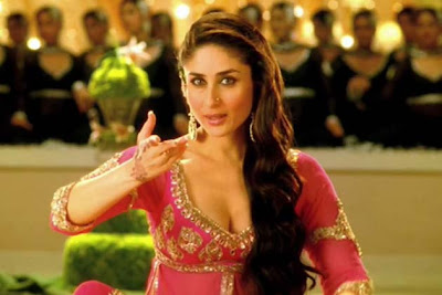 Kareena Kapoor in Lucknowi Pink Gharara in Agent Vinod Video Song from Bollywood