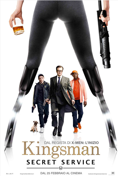 Al cinema Kingsman Secrete Service e Paris, Texas dal 25-02-2015