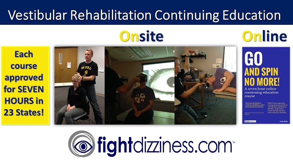 Online Vestibular Rehabilitation Continuing Education Course