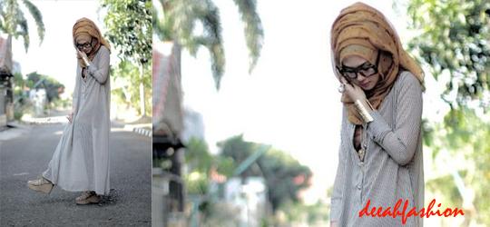 Trend Busana Muslim Ramadhan Gamis Chic