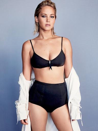 Jennifer Lawrence photo shoot for Glamour Magazine February 2016