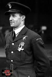 Famous Polish Ace Pilot F/0 Miroslaw Feric