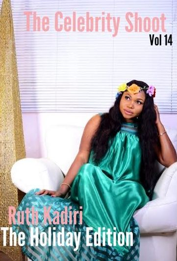 Ruth Kadiri on the cover of The Celebrity Shoot Magazine