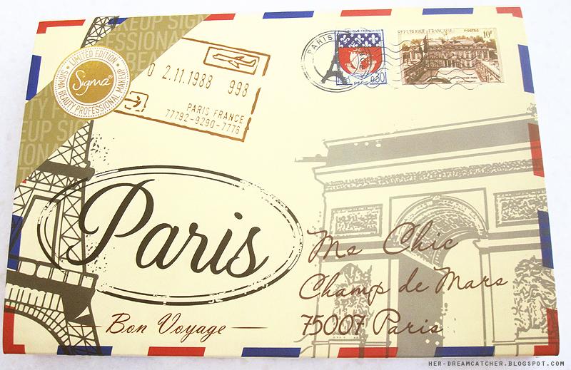 Sigma Paris Palette: Review & Swatches