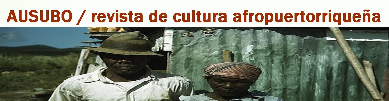 AUSUBO revista de cultura afropuertorriqueña