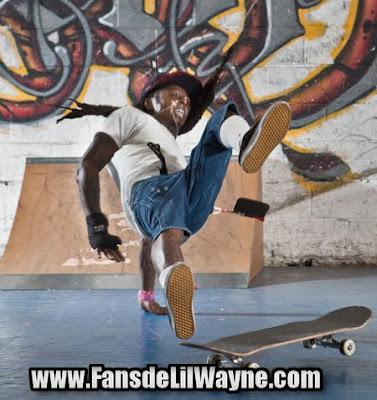fotos de lil wayne haciendo skate lil wayne fail lil wayne cayendose