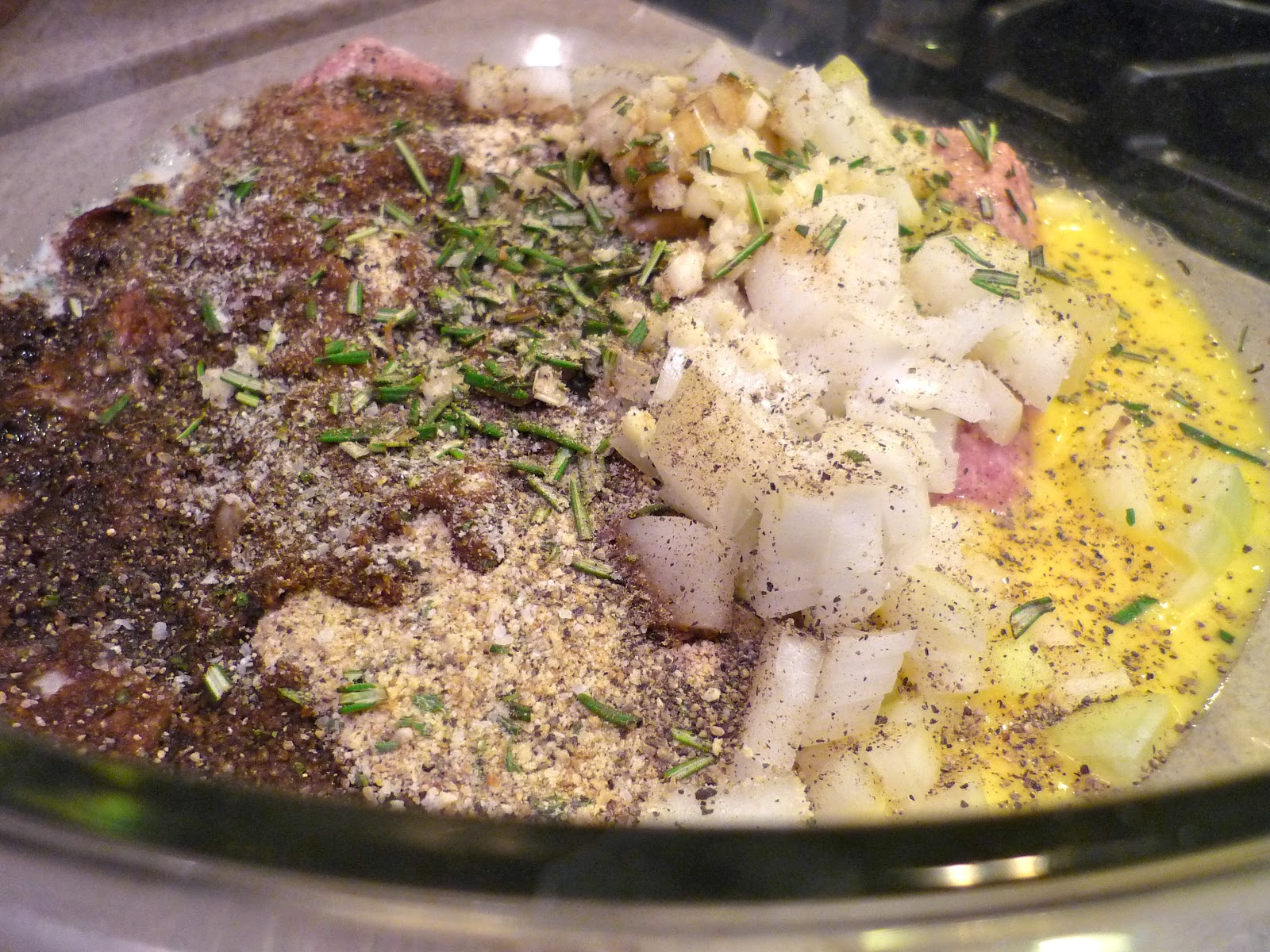 The No Pressure Cooker: Rosemary Turkey Meatloaf