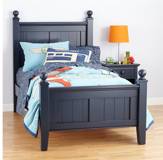 Navy Blue Twin Bed Frame