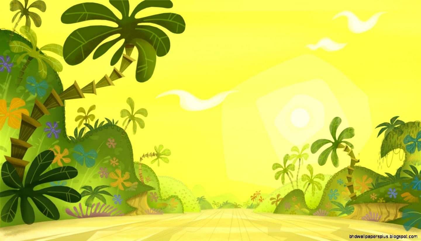 Jungle Background Clip Art