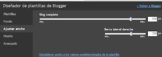 diseñar las páginas estáticas en blogger