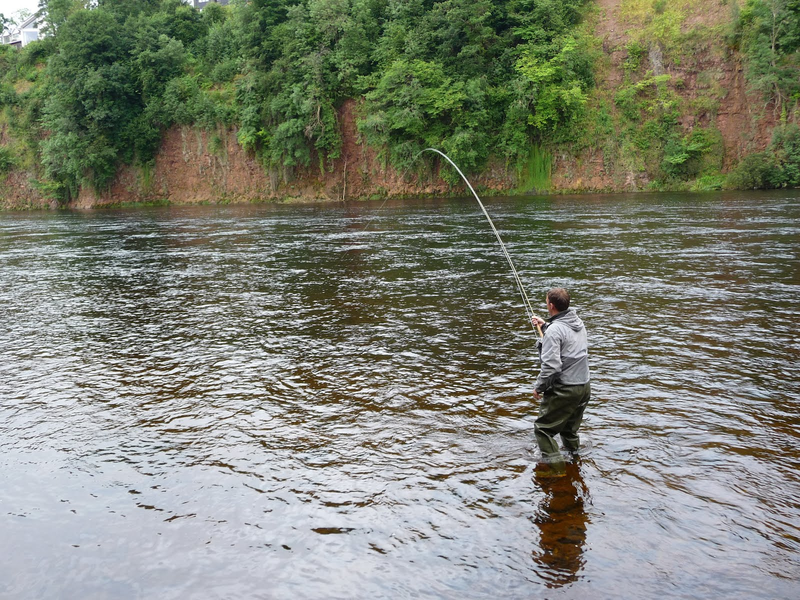 salmon fishing scotland salmon fishing scotland august
