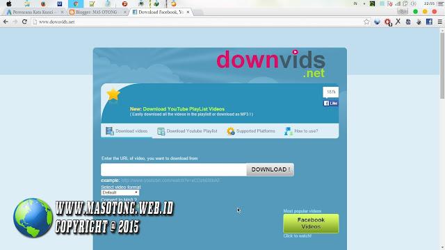 Cara Download Video Facebook Tanpa IDM