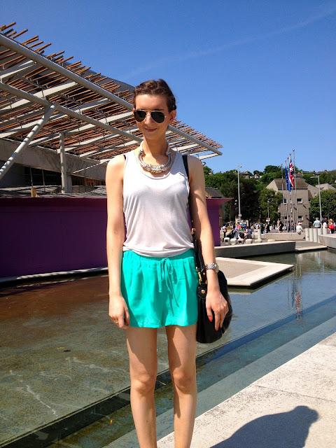 allsaints_silk_biker_forever21_turquoise_shorts