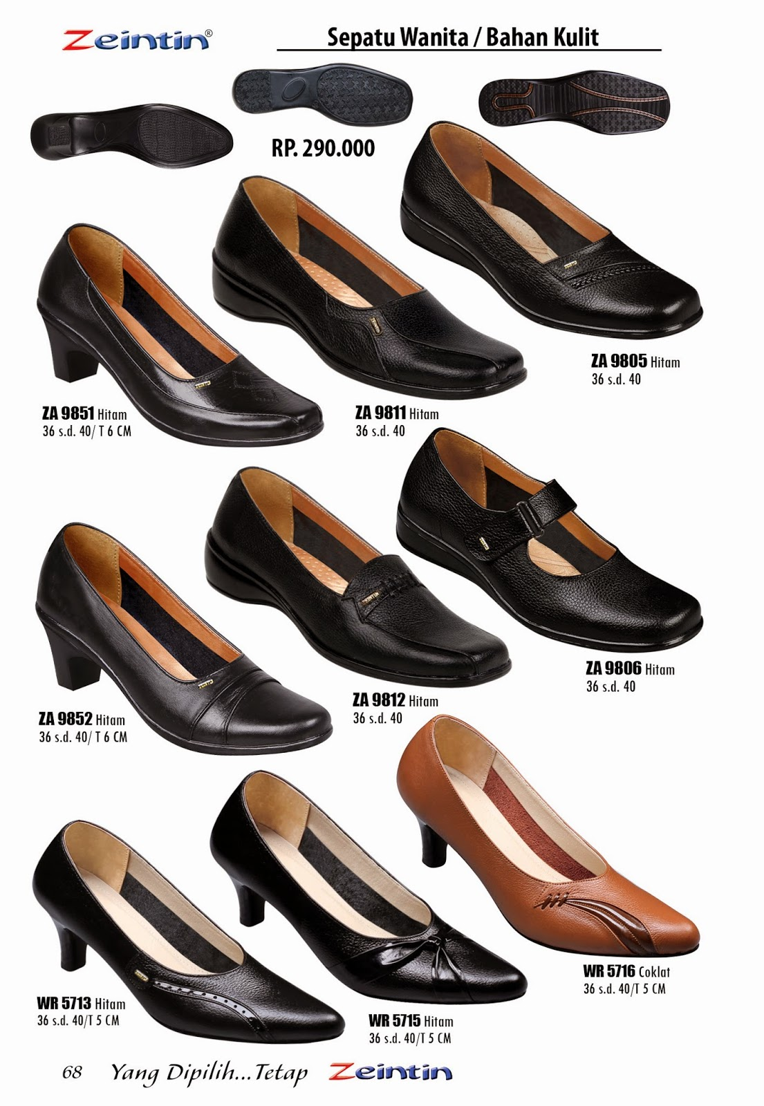 Sepatu Kulit Wanita Zeintin Katalog Edisi Brilian 11