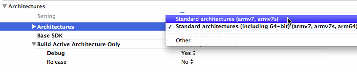 xcode ios open dev error undefined symbols for architecture arm64