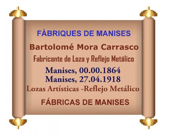 06.02.18 FCAS DE MANISES: BARTOLOMÉ MORA  CARRASCO