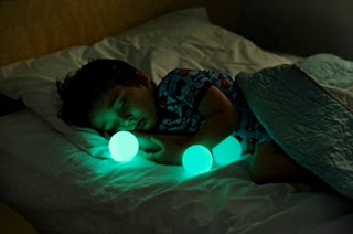 Guardrail lamps design for kids