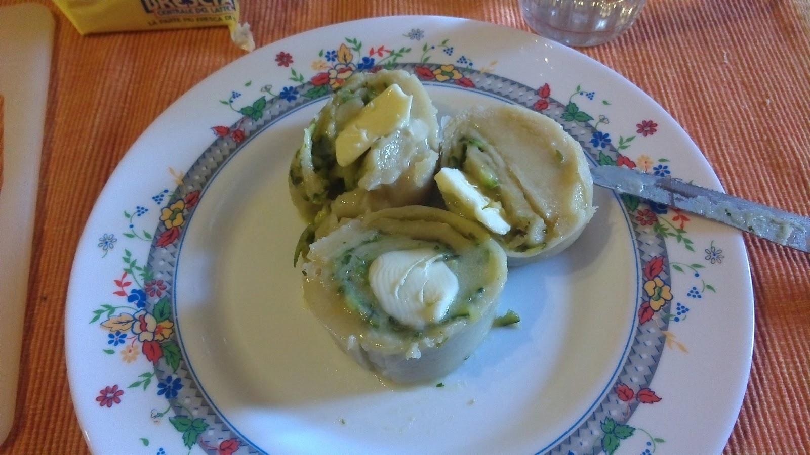 La cucina di gloria il rotolo di pasta con le zucchine - Cucina gloria mercatone uno ...