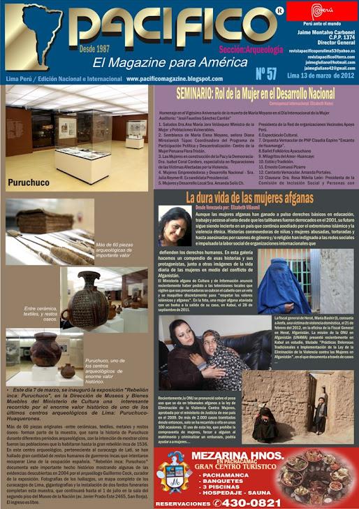 Revista Pacífico Nº 57 Arqueología