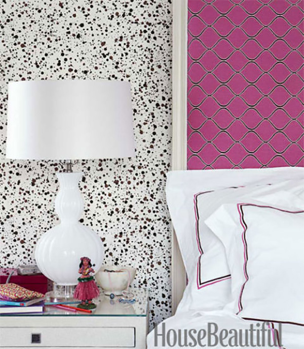 Splatter Paint Bedroom Ideas Black And White Rug Bedroom Key West Bedroom Decorating Ideas Bedroom Ideas Dark Brown Furniture: Interiors By Jacquin: Go Bold With Paint Splatter In Design