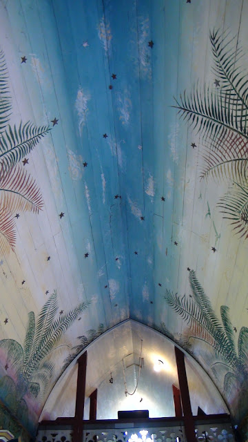 Painted Church Ceiling (c) Travel Gravy 2012