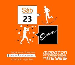 Maraton intencional de Reyes Concordia 2016