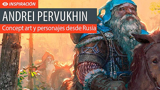 Concept art y personajes de ANDREI PERVUKHIN