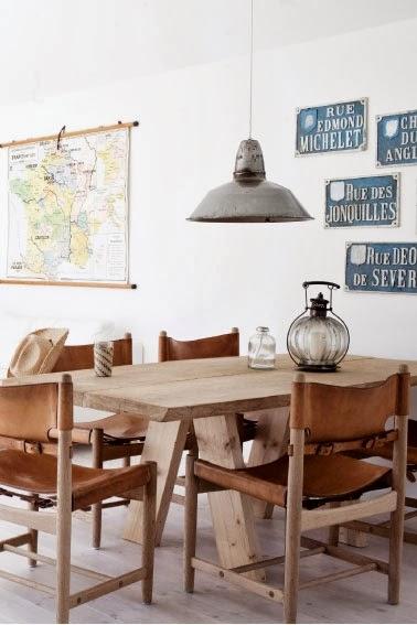 es tendencia estilo rstico moderno en una casa danesa