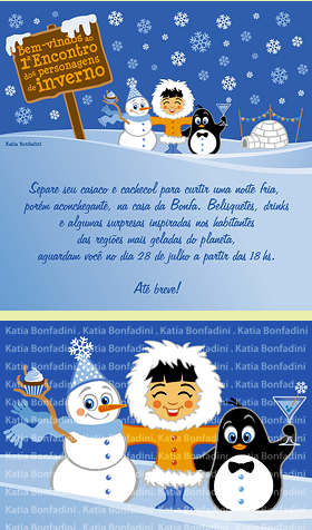 Ilustrao para a FESTA DE INVERNO