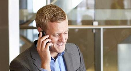 رجل اعمال يتحدث فى الهاتف - man talking on the phone