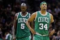 Paul Pierce and Kevin Garnett traded to Brooklyn Nets