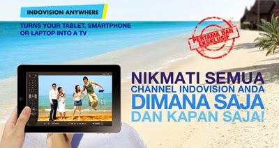 Indovision Anywhere Solusi Nonton Kapan dan Dimana Saja