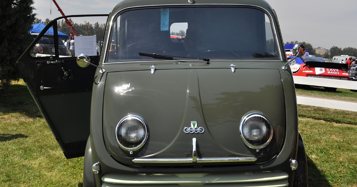 just a car guy 1956 dkw van only one restored in america first