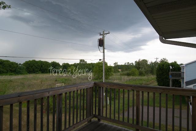 Door County Sturgeon Bay weather storm clouds