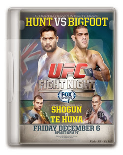 UFC Fight Night: Hunt vs. Pezão – HDTV AVI + RMVB