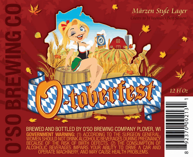 O'so O-toberfest Label