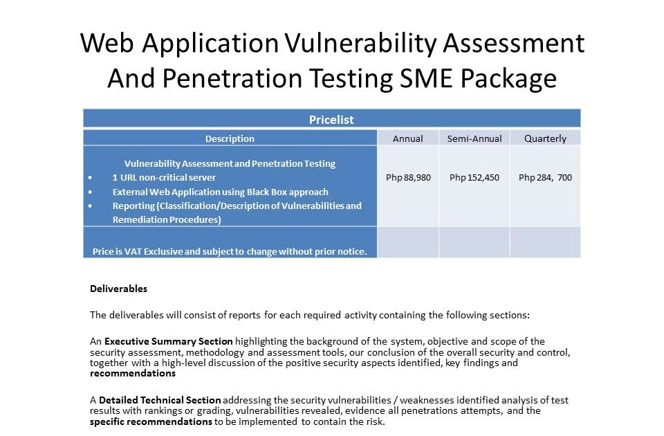 Security Assessment: Security Assessment Consulting