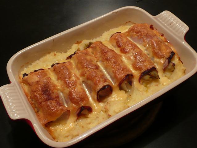 koken en eten in baambrugge: witlof met ham en kaas
