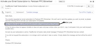 Berlangganan Panduan PPC Bidvertiser