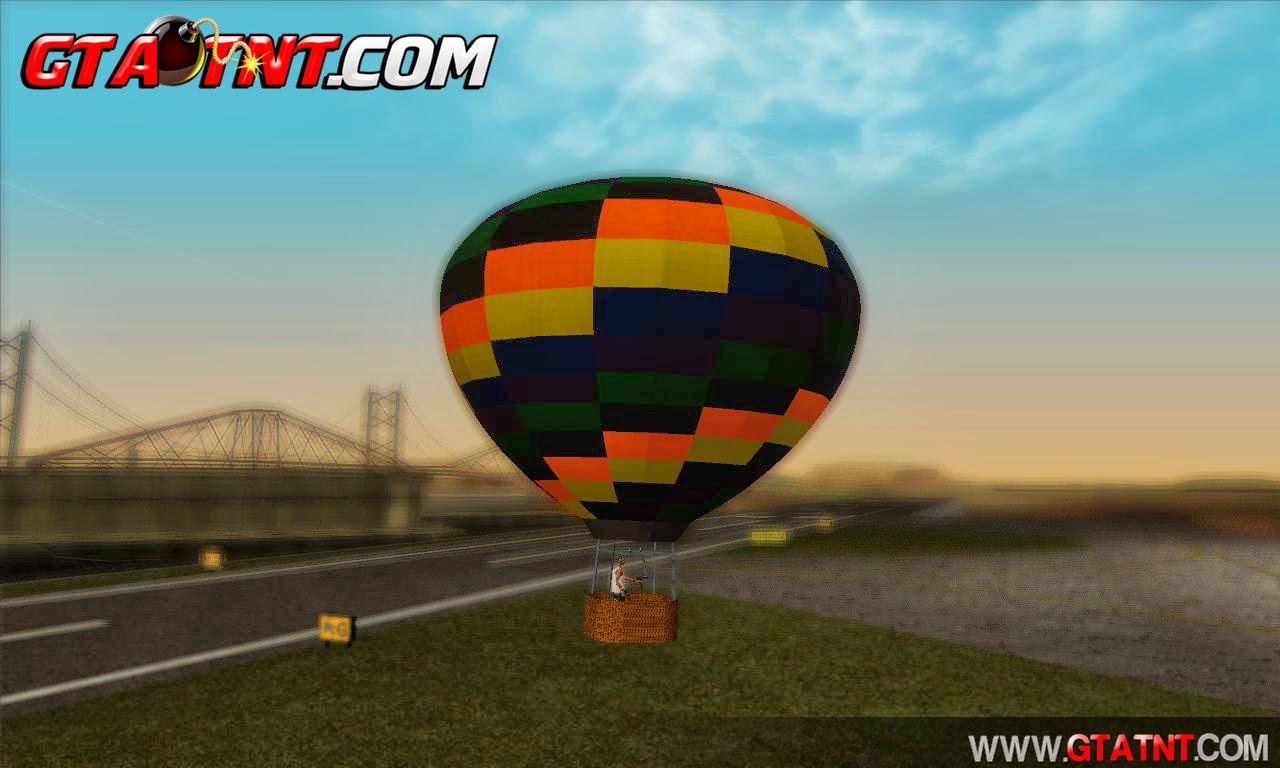 Bal�o de ar quente para GTA San Andreas