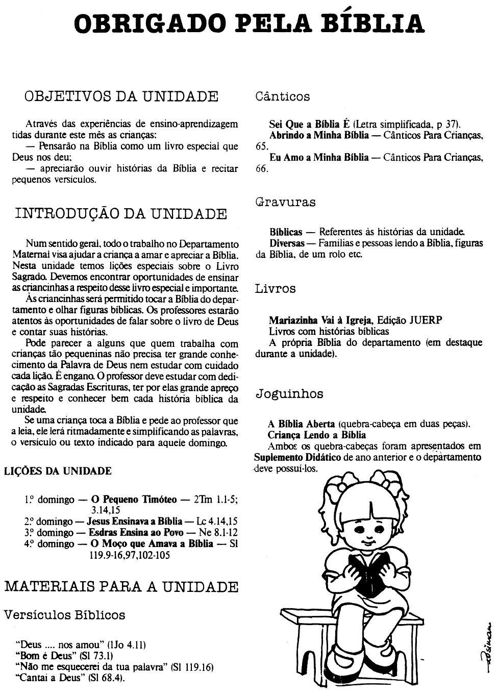 Extremamente Escola Dominical Infantil: História, plano de aula e atividade  WV01