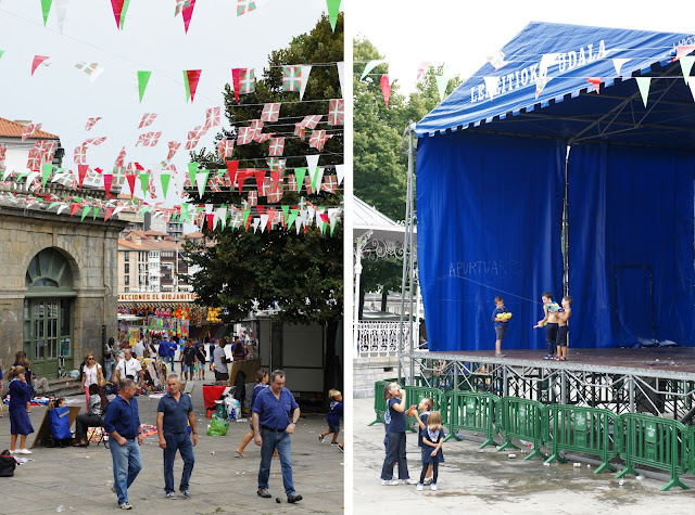 dia de los gansos/day of the geese festival lekeitio spain
